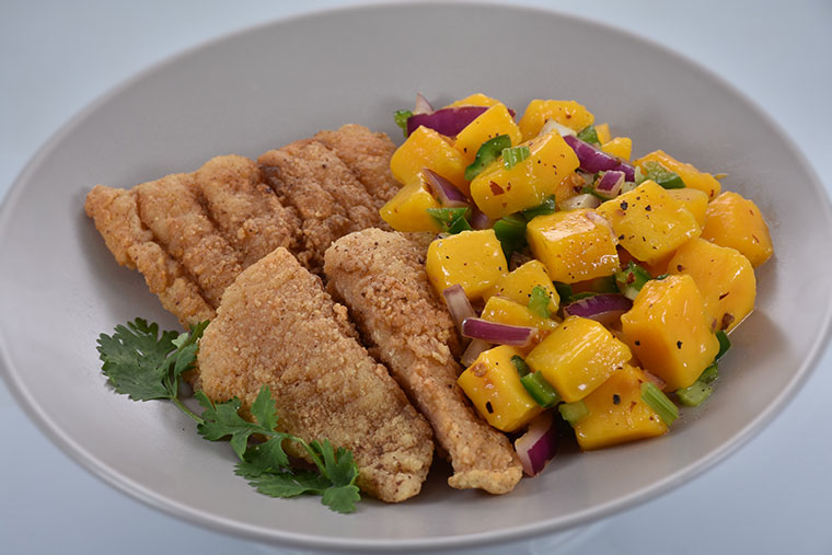 Fish-Fillet-in-Mango-Salsa