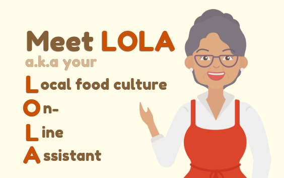 Local food culture On Line Assistant