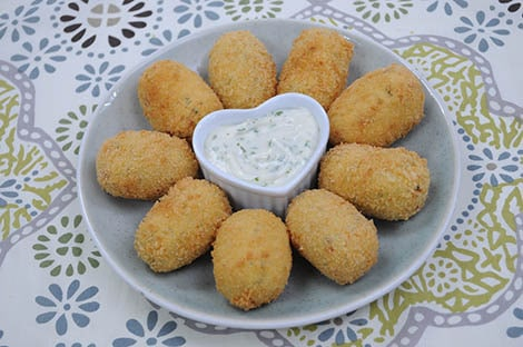 Crunchy Squash and Malunggay Croquettes