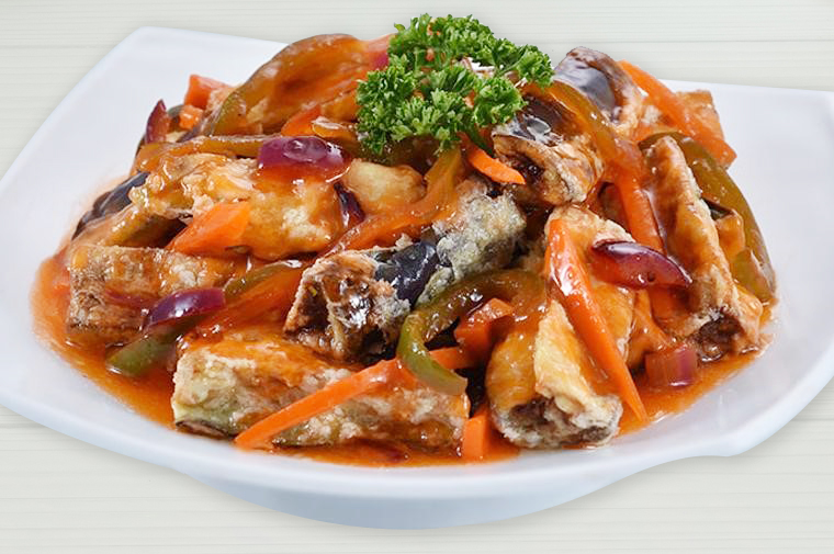 Sweet and Sour Eggplant1