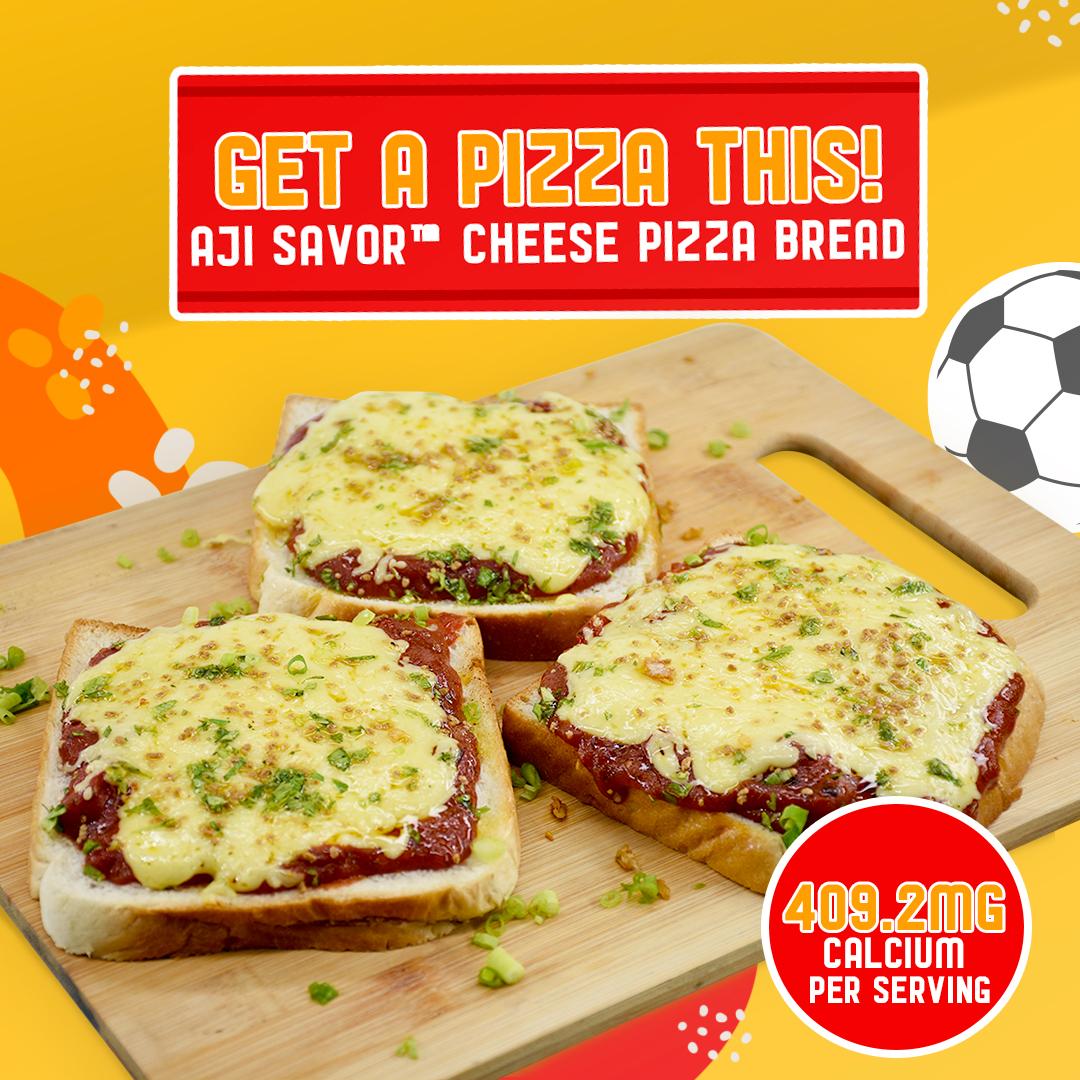 AJI-SAVOR™ CHEESE PIZZA BREAD