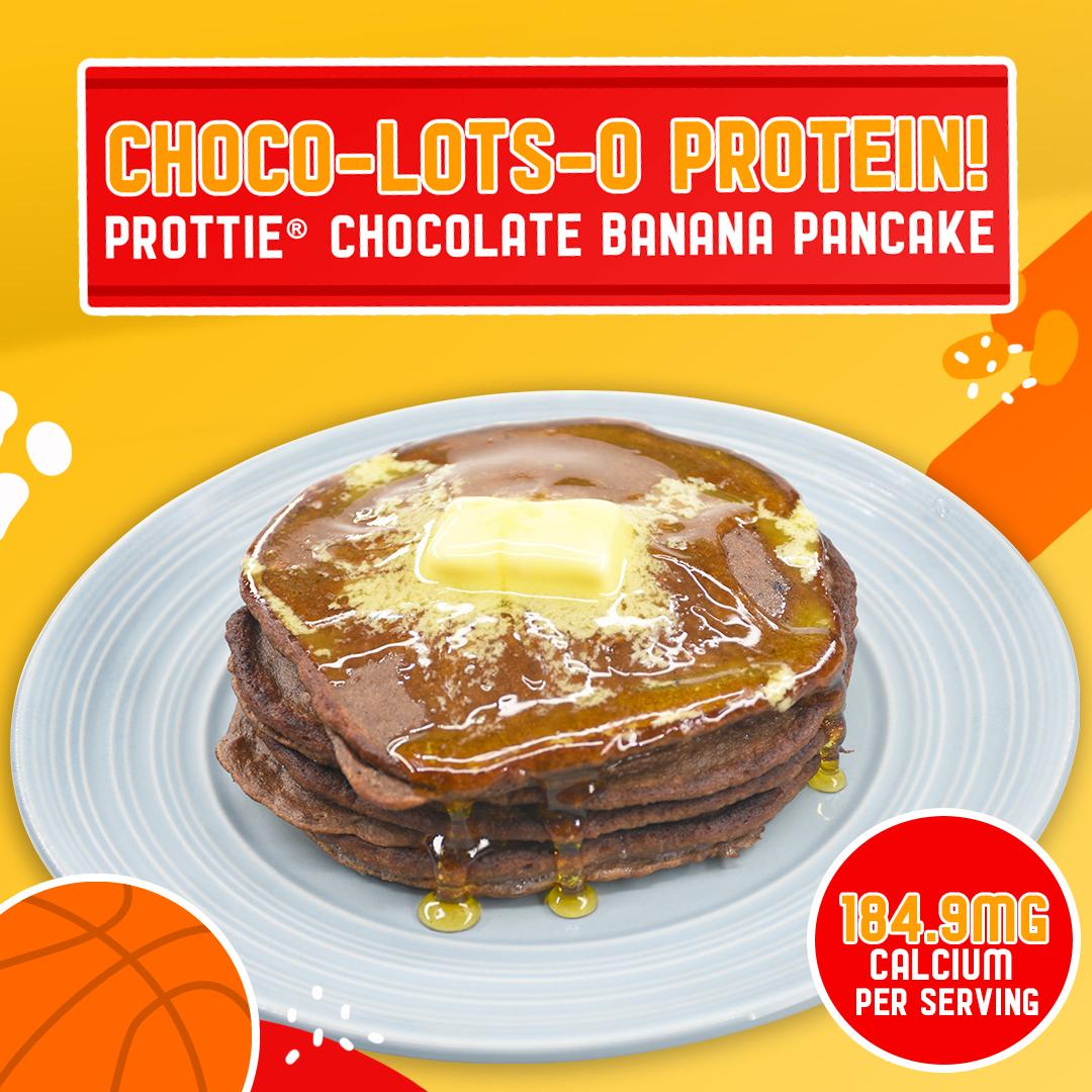 PROTTIE® CHOCOLATE BANANA PANCAKE