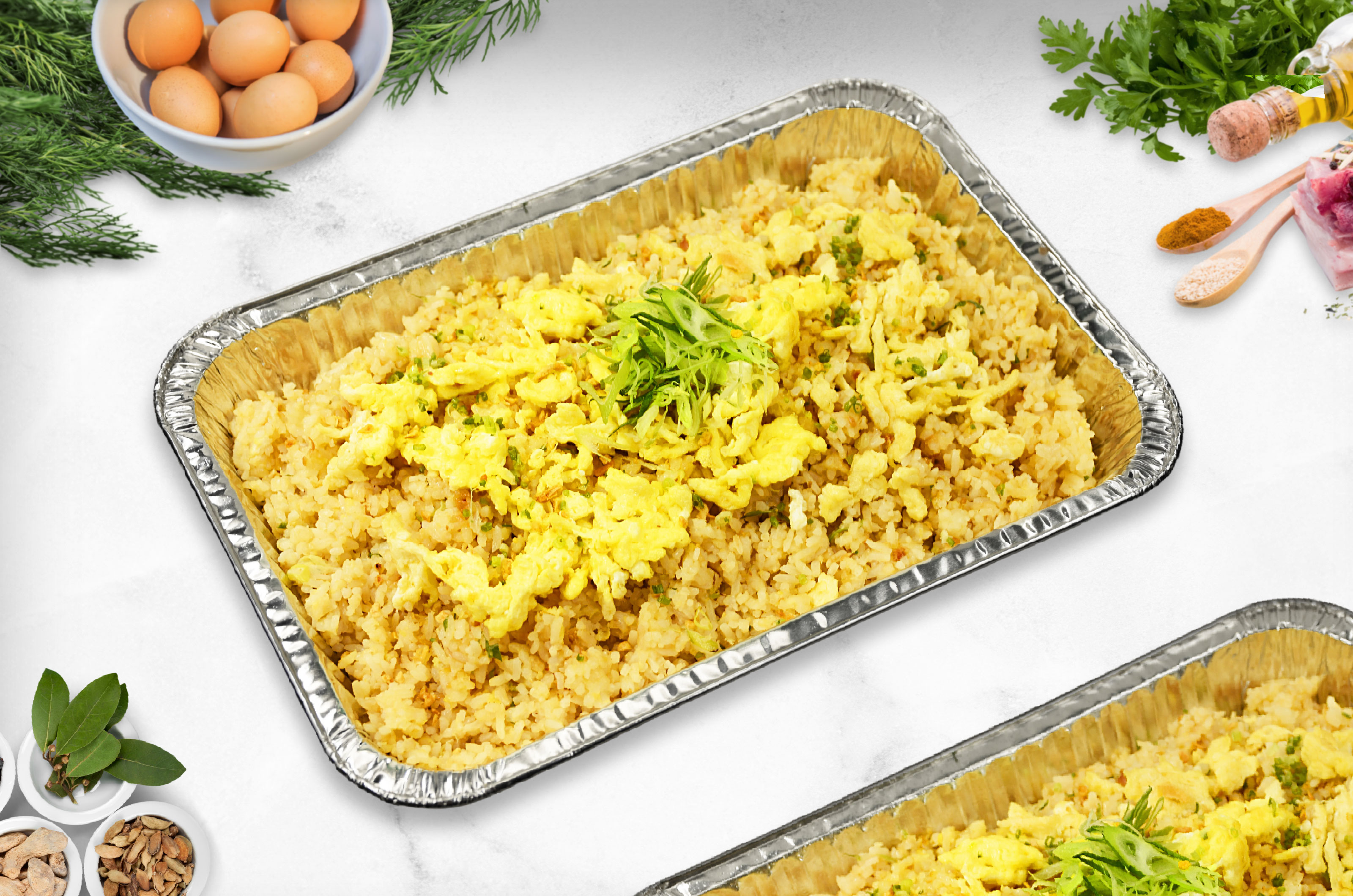 Egg Fried Rice Recipe How To Cook Egg Fried Rice