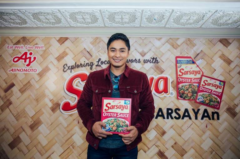 SARSAYA® explores PH flavors, intros new TVC starring Coco Martin