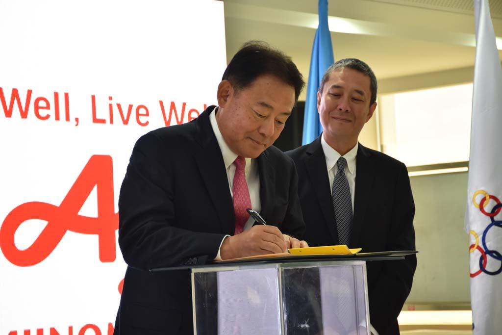 AJINOMOTO President Kaoru Kurashima