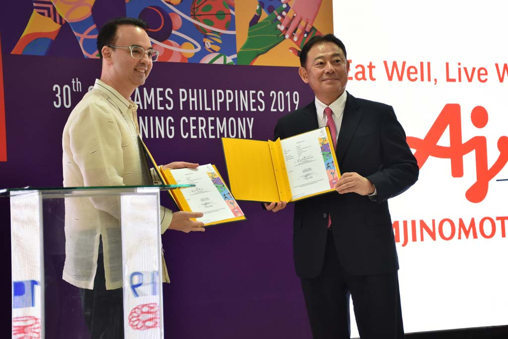 Mr. Kaoru Kurashima and Alan Peter Cayetano