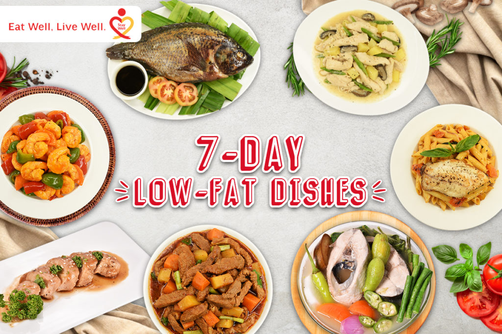 7-Day Low Fat Cooking Challenge