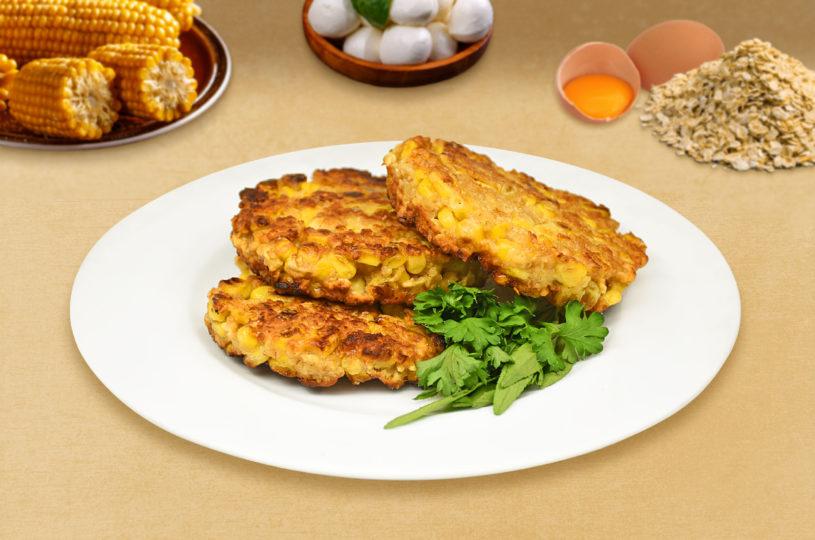 Cheesy-corn-fritters