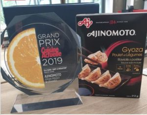 AFE's Chicken and Vegetable Gyoza were awarded the Grand Prix 2019 by Cuisine Actuelle