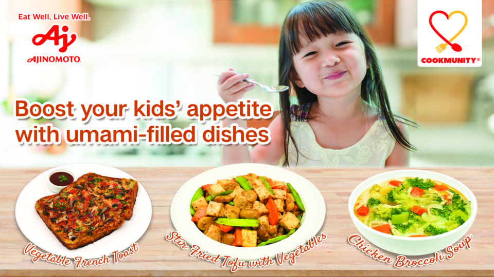MSG Benefit on Child's Appetite