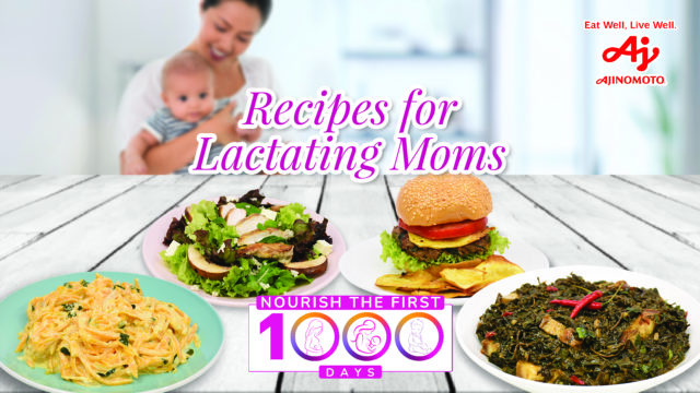 Recipes for Lactating Moms